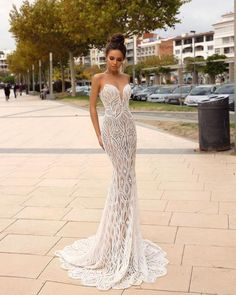"""Wedding Dress Inspiration – Tina Valerdi """"Passion by Tina"""" Bridal Collection The Chic Technique: Beautiful wedding dress inspiration – Sweetheart neckline mermaid Wedding Dresses, mermaid wedding gown,a-line wedding dress Wedding Gown A Line, Luxury Wedding Dress, Sexy Wedding Dresses, Boho Wedding Dress, Bridal Dresses, Wedding Gowns, Mermaid Wedding, Lace Wedding, Prom Dresses"""