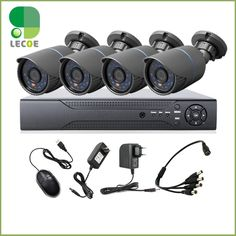 (169.29$)  Buy here - http://aip8z.worlditems.win/all/product.php?id=32466530668 - 8CH CCTV 1080P NVR System with 4pcs 720P 1.0MP  Nightvision Outdoor/indoor Waterptoof  Network IP Cameras Surveillance  System