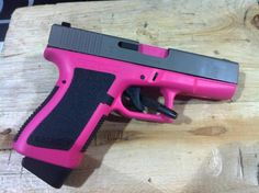 Pink Glock | See the Cerakote price list for guns at bottom of this page.
