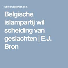 Belgische islampartij wil scheiding van geslachten | E.J. Bron