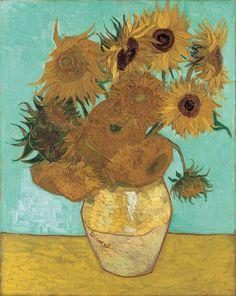 Art of the Day- Van Gogh, Sunflowers, August 1888. Oil on canvas, 92 x 73 cm. Die Pinakotheken im Kunstareal München..jpg