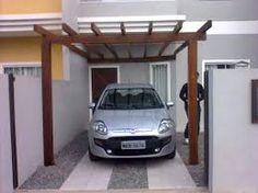 Resultado de imagem para cobertura de garagem pergolado
