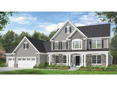 Space Where it Counts (HWBDO75993) | Colonial House Plan from BuilderHousePlans.com