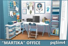 Furniture: Martika Office from Sims 4 Ps4, Sims 4 Game, Sims Cc, Sims 4 Cc Furniture, Furniture Sets, Sims 4 Family House, Sims 4 Controls, Muebles Sims 4 Cc, Sims Building