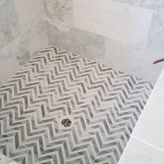 herringbone fishbone tile mosaic