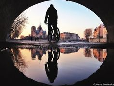 In a parallel world, breathtaking reflections of Paris - by Joanna Lemanska ...