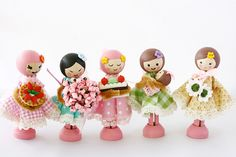 sweet tidings peg dolls | Flickr - Photo Sharing!