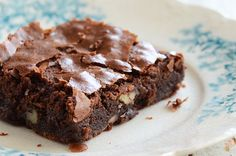 The Best Chewy Brownies #recipes #dessert #chocolate