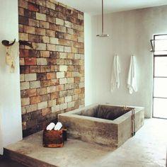 #concrete #tub