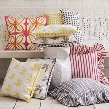 Linen Cushions, graham and green, uk