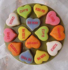 Valentine's Petit Fours