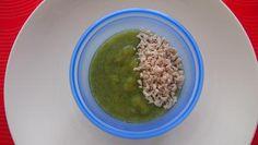 Brokolicovo - cuketové pyré s pórom a kuracím mäskom