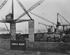 LOVELL'S WHARF Vintage London, Old London, Greenwich London, Lost Job, London History, London Photos, London England, The Past, Places To Visit