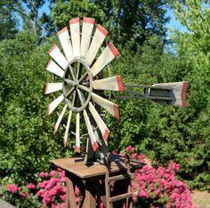 amerikanisches windrad gartendeko pinterest windrad windm hle und m hle. Black Bedroom Furniture Sets. Home Design Ideas