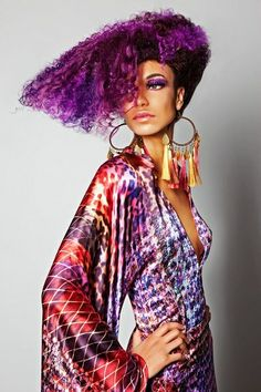 Most Beautiful Afro Hairstyles for Women Creative Hairstyles, Unique Hairstyles, Afro Hairstyles, Color Borgoña, Curly Hair Styles, Natural Hair Styles, Fantasy Hair, African American Hairstyles, Glamour