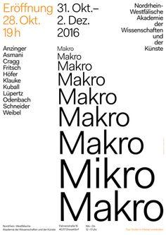 AWK / Mikro Makro / Poster / 2016