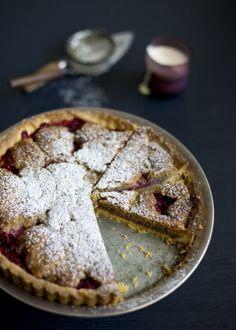 Strawberry Frangipane Tart / The Gluten Free Scallywag Magazine Vol 3