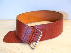 Cinturone in cuoio vintage cintura in pelle di piccolibijoux, €50.00