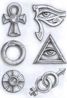 Египет Ankh Tattoo, Anubis Tattoo, Egyptian Symbol Tattoo, Egyptian Tattoo Sleeve, Egyptian Symbols, Egyptian Art, Egyptian Isis, Tattoo Sketches, Tattoo Drawings