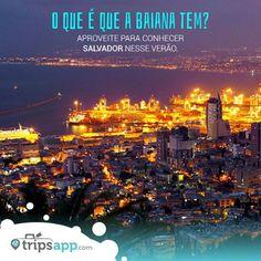 """Um dos destinos mais procurados pelo Brasil e pelo mundo. Conheça Salvador e suas praias paradisíacas nesse verão. Aproveite para responder a pergunta mais conhecida: """"O que é que a baiana tem?"""" Do mercado central, as melhores praias. Acesse go.tripsapp.com/c_salvador  #nordesteBR #SalvadorBR #Brasil #verao #viajar #amoviajar #queroviajar #conhecernordeste #lovetravel #travel #trip #trips #tripsapp"""