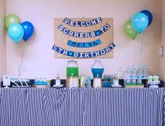 Monsters University Birthday Bash + Party via Kara's Party Ideas KarasPartyIdeas.com Party supplies, cake, printables, tutorials, invitation, food and more! #monstersinc #monstersuniversity #monstersincparty #monstersuniversityparty #monstersincbirthdaycake #mikeandsully #mikecake #karaspartyideas #monsterparty #partyplanning #monsteruniversitypartysupplies (40)