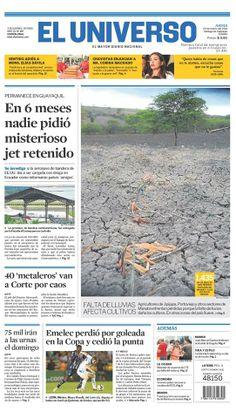 Portada de #DiarioELUNIVERSO del 20 de marzo del 2014. Las #noticias de #Ecuador y el mundo en: www.eluniverso.com