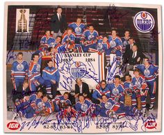 HockeyGods strives to untie hockey fans from across the globe covering all types of hockey imaginable. Stanley Cup Champions, Good Old Times, Edmonton Oilers, Team Photos, Hockey Players, Nhl, Baseball Cards, Legends, Ice Hockey