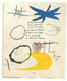 Joan Miró - Sketches
