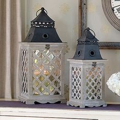 Two beautiful lanterns for your porch