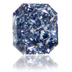 1.15 Radiant FANCY DEEP BLUE diamond