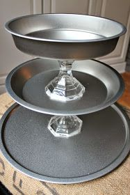 {DIY} Dollar Tree Three Tier Tray Tutorial | Southern State of Mind