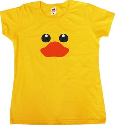 Rubber Duck Funny Female Fit Womens T-Shirt #FruitoftheLoom #Shirts