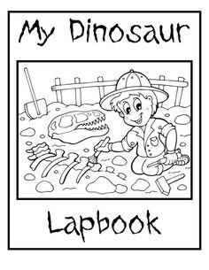 Creation Based Dinosaur Unit Study and Lapbook Printables