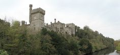 Lismore Castle is in the town of Lismore in County Waterford. It was in a decorating magazine years ago. I tore out the pages, so I don't know what magazine. I just wanted to drive by and see it on…