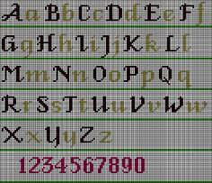 cs1 - Fancy Alphabet — Wonderful Stitches
