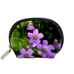 Little+Purple+Flowers+Accessory+Pouches+(Small)++Accessory+Pouch+(Small)