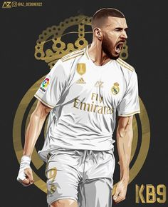Real Madrid Football Club, Real Madrid Players, Real Madrid Highlights, Coco Costume, Real Madrid Wallpapers, Football Art, Uefa Champions League, Soccer Players, Fifa