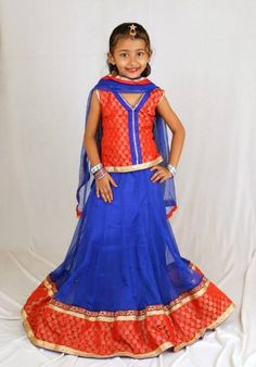Lehanga Dress Collection For Little Girls.