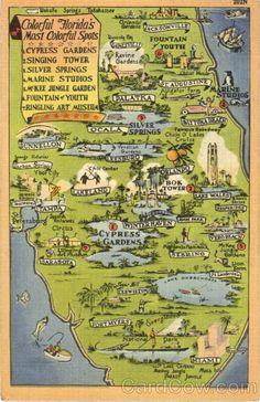 127 Best Vintage Florida images