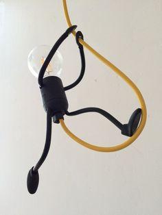 Suspensions, Mr.Bright One on a Rope est une création orginale de Licht-en-Levendig sur DaWanda