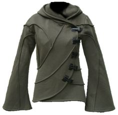 Vodabox - Army Green Hooded Cyber Jacket [10V520pl] - £83.99 : Gothic Clothing, Gothic Boots & Gothic Jewellery. New Rock Boots, goth clothing & goth jewellery. Goth boots and alternative clothing