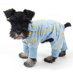 Comfy Pajamas | knittedPaws | Price: $7.70 + FREE Shipping #dog #puppy #ducks #pajamas #pjs #pet