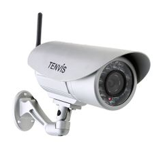 Tenvis bullet IP camera. Night vision, two way audio, wired/wirelss, waterproof, and more
