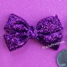 glitter bows for hair - Google Search
