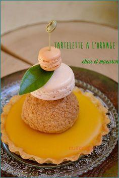 Tarte Orange chou et macaron_1