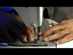▶ Video Tutorial: How to Add Waistband, Ban Roll and Clamp Hook and Eyes to Trousers Part 2 - YouTube