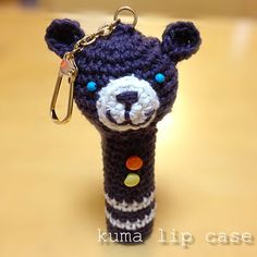 編みぐるみリップケースの作り方 編み物 編み物・手芸・ソーイング ハンドメイドカテゴリ アトリエ