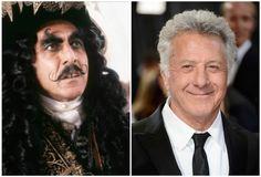 Dustin Hoffman in Capt. Hook