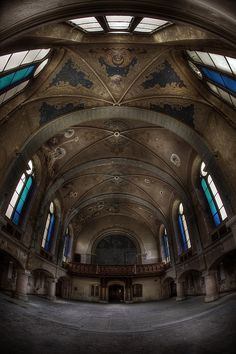 Abandoned church Blue  :: by andre govia., via Flickr