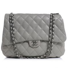 Fashionphile - CHANEL Vintage Straw Leather Flap Brown ❤ liked on ... : grey quilted bag - Adamdwight.com